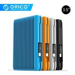 Orico 2 TB Harde Schijf USB 3.1 Gen2 TYPE-C 3.5 Sata 10Gbps Hoge Snelheid Shockproof Externe Harde Schijven HDD laptop Mobiele EU Plug
