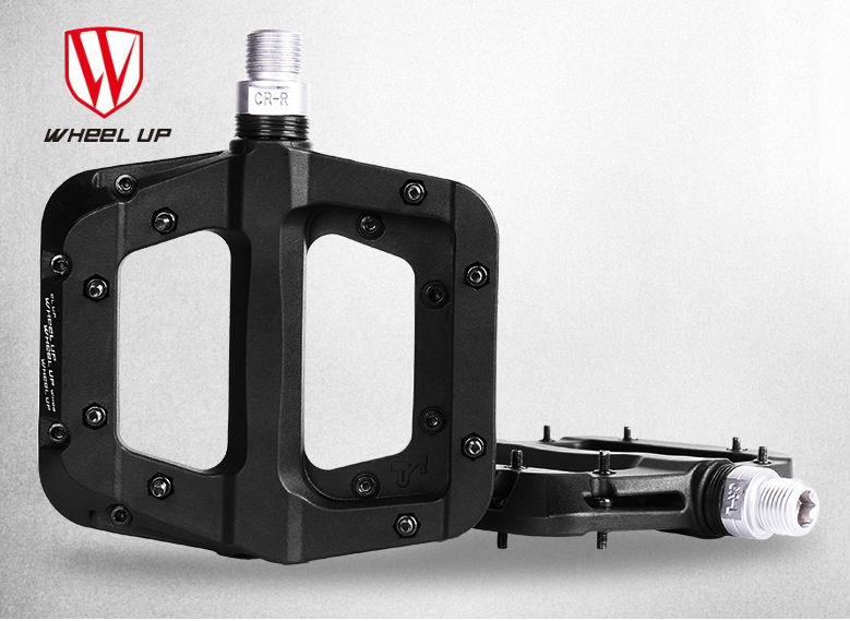 Free shipping wheel up New Nylon fiber bearing Bicycle Pedal MTB Mountain / Road bike pedal NBK bearing 356G bicycle parts new fsaeaston carbon fiber bicycle parts about a pair of pedal