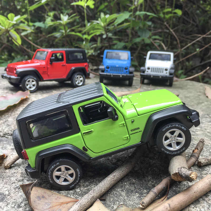 1/32 JEEP Wrangler Models Simulation Alloy Car Model Car Toys Furnishing Articles