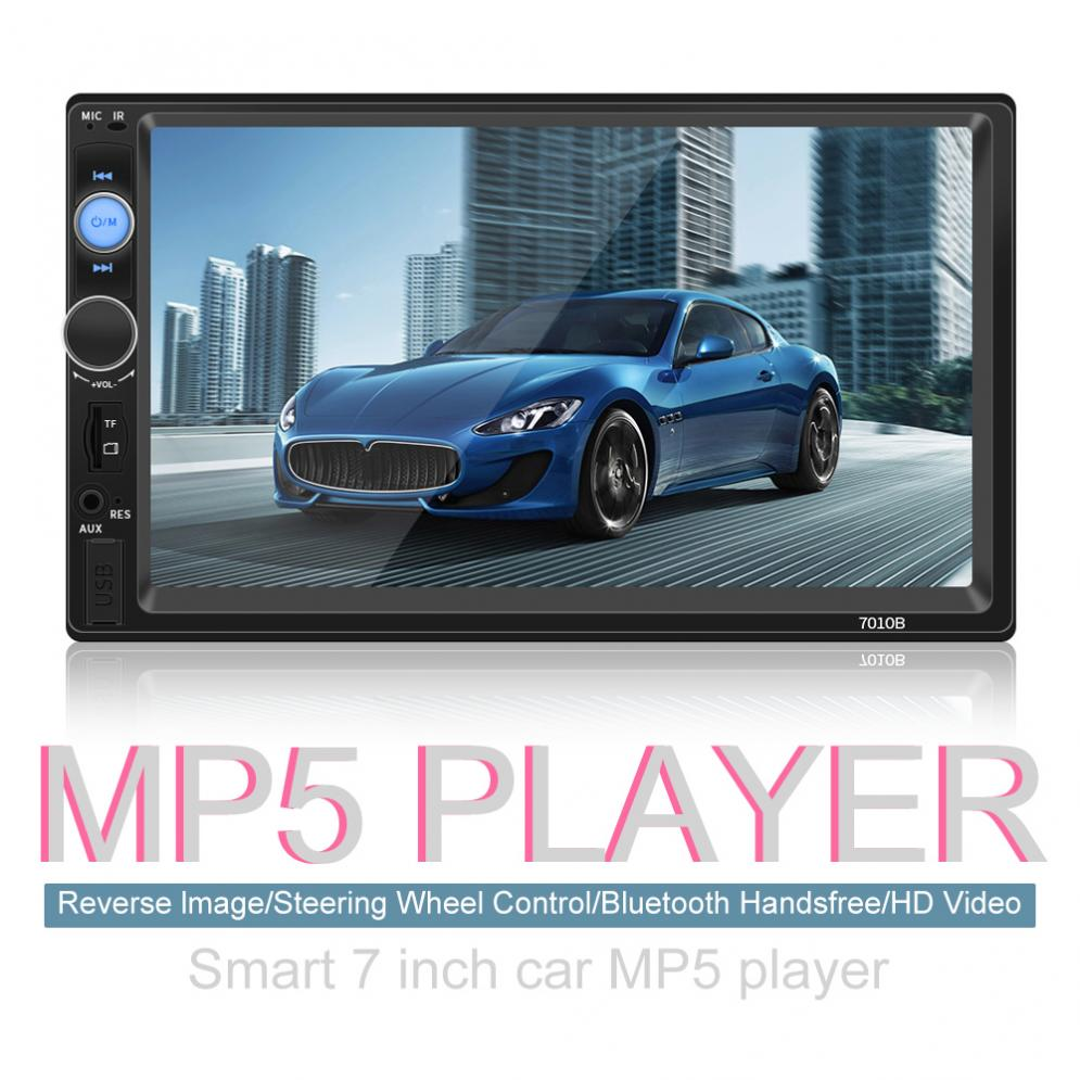 7 Inch Bluetooth 2 DIN In Dash HD Touch Screen Car Video Radio Stereo Player Support Mirror Link for iPhone and Android/Aux In7 Inch Bluetooth 2 DIN In Dash HD Touch Screen Car Video Radio Stereo Player Support Mirror Link for iPhone and Android/Aux In