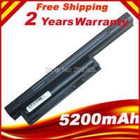 Laptop Battery 5200MAH For BPS26 VAIO CA CB EG EH EJ EL VPCCA VPCCB VPCEG VPCEH VPCEJ VPCEL VGP-BPL26 VGP-BPS26 VGP-BPS26A
