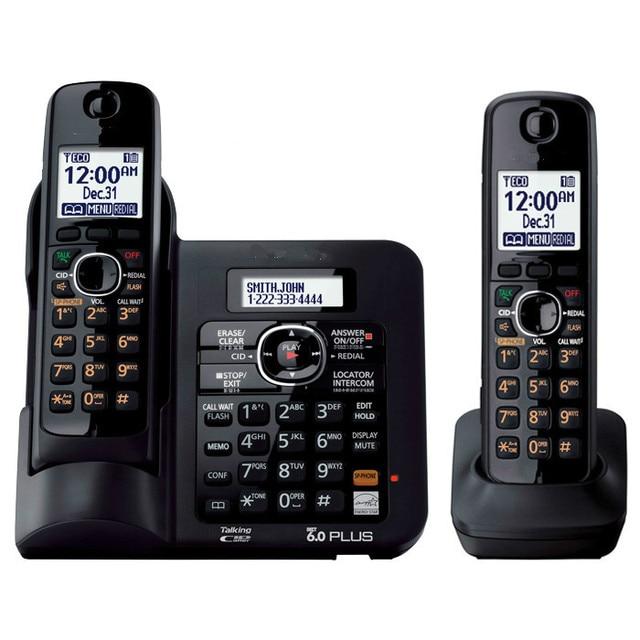 2 handsets kx tg6641 series dect 6 0 digital wireless phone black rh aliexpress com Panasonic Kx Instruction Manual Panasonic Kx 390 B Manual