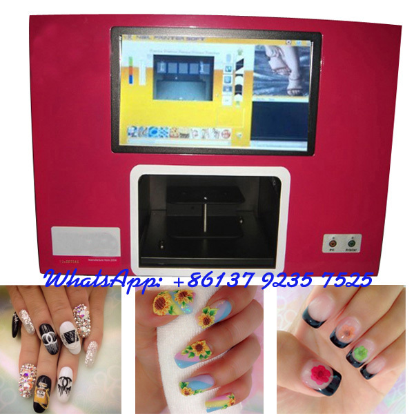 Professional Nail And Flower Printer 5 Hands Nails Printing Machine Art For