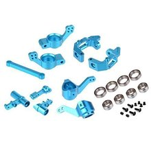 HSP RC 1 10 Car Upgrade Parts Aluminum Steering Hub Mount Carrier 102010 102011 102012 For