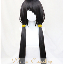 Redisall DATE A LIVE Tokisaki Kurumi Black Wig Braid Cosplay Nightmare Role Playing