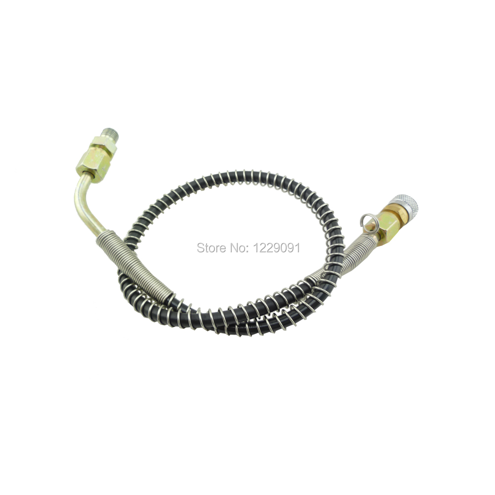 New Paintball PCP Diving Cylinders Charging Hose 24 Inch High Pressure Microbore Remote Fill Whip Hose Extension mayitr heavy duty yellow rubber grease hose high pressure long extension whip with grease beaks
