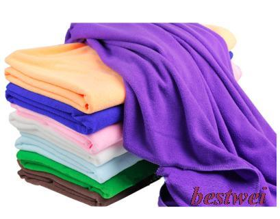 Plus Size Ultrafine Fiber Bath Towel Soft Adult Child Microfiber Super Absorbent Shower Towels 70*140cm