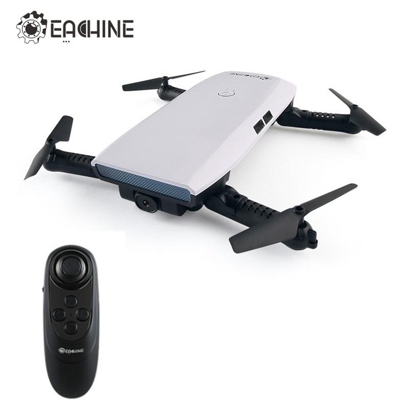 En stock! Eachine e56 720 p WiFi FPV selfie drone con sensor de gravedad App control altitud hold RC quadcopter juguete RTF vs jjrc h47