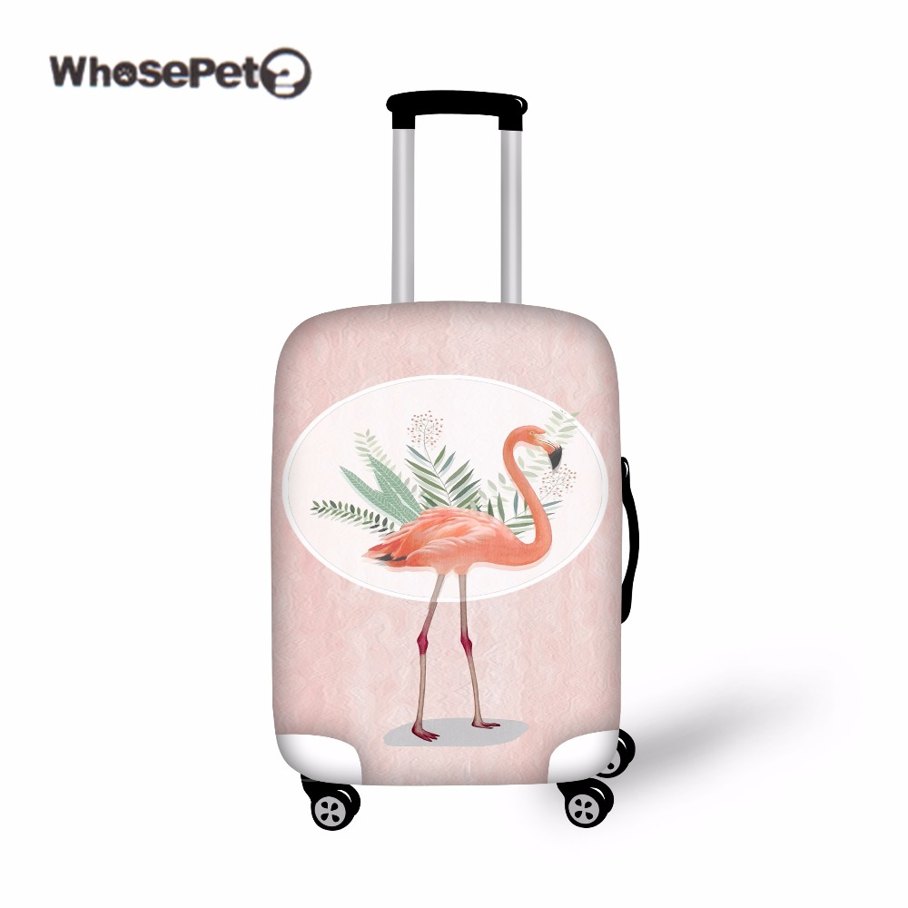 WHOSEPET Flamingo Väska Resor Stoftät Bagage Skydd Färsk Elastisk - Resetillbehör - Foto 2