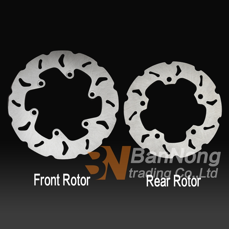 Motorcycle Modified flower Front & Rear Brake Disc Rotor For Suzuki Burgman Skywave AN250 1998 2002 AN 400 1999 2002 AN 250 400-in Brake Shoe Sets from Automobiles & Motorcycles    1