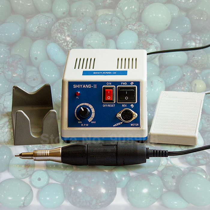 110V/220V Jewelry Engraving Dental Lab Dremel N3 SHIYANG Marathon Micro Motor + 35K RPM AGD 102 Polish Handpiece Polisher dental endodontic root canal endo motor wireless reciprocating 16 1 reduction