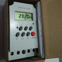 Din Rail Digital Programmable Electronic Timer Switch KG316T II LCD Microcomputer Time Switch Digital Timer Controller