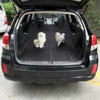 Big Size 206 133cm Dual Use Waterproof Dog Auto Car Trunk Soft Mat Back Seat Cover