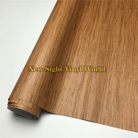 Rosewood Wood Grain Adhesive Vinyl Wrap Film Sticker For Floor Funiture Car Interier Size 1 24X50m