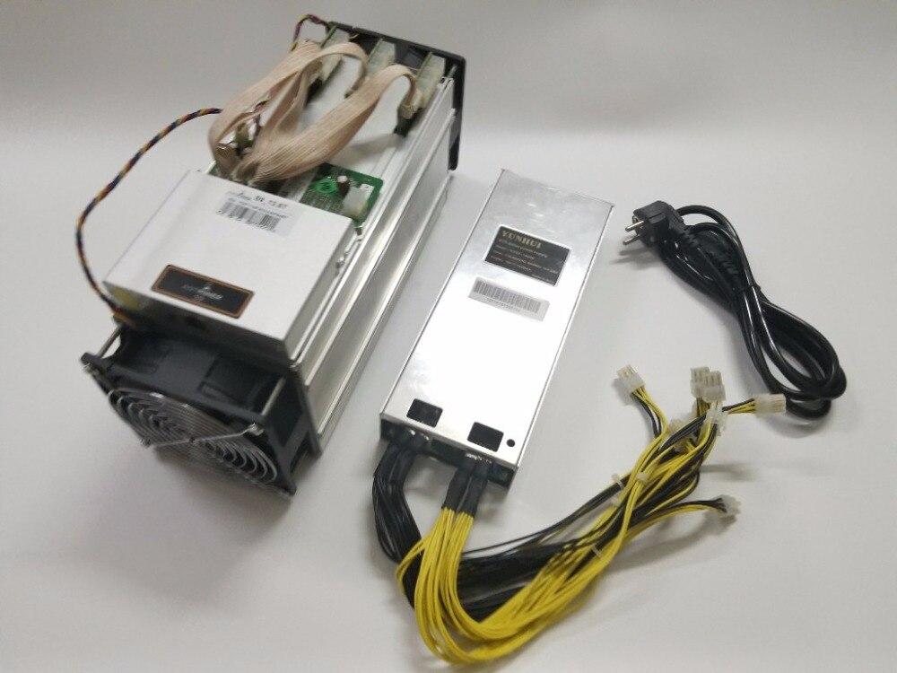 Se AntMiner S9 13,5 T con fuente de alimentación Bitcoin minero Asic minero BTC BCH minero de Bitmain mejor que WhatsMiner m3