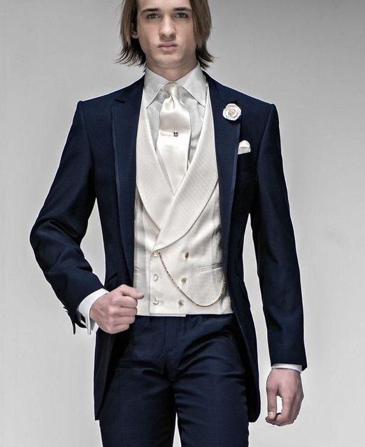 New Arrival Mens Suits Groomsmen Groom Tuxedos Wedding Best Man ...
