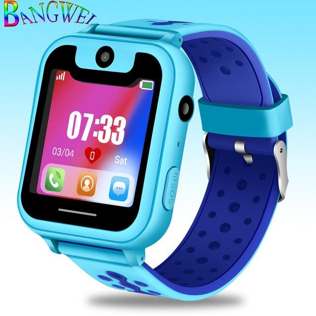 BANGWEI neue Art und Weisekinder intelligente Uhr LPS Handy Positionierung 1,54
