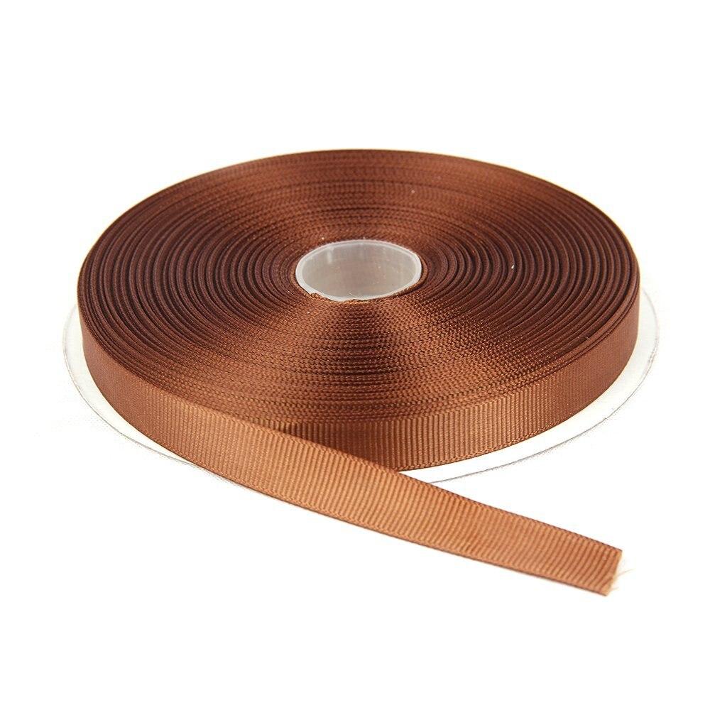 Zerzeemooy 100 Двор/rolls 1/4 «3/8» 5/8 «3/4» 1 «6 мм 10 мм 15 мм 20 мм 25 мм 100% полиэстер коричневый корсажная лента кружева