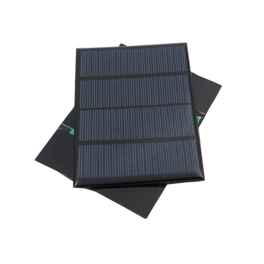 2pcs x Solar Panel 12V 100mA 1.5W Cell DIY Battery Charger Mini Solar Panel China Module Solar System Cells for Cell Charger Toy