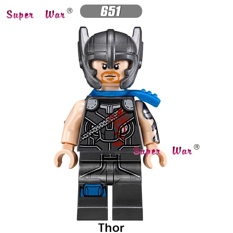 1PCS star wars super heroes Marvel comics Thor Ragnarok series 76088 building blocks models bricks toys for children kits