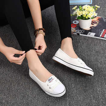 Women Shoes Fashion Comfortable Sports Sneakers Female Flats Trend Breathable Casual Canvas Shallow Shoes Women\'s Sneakers
