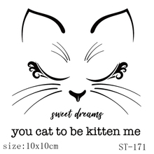 AZSG The favorite of the cat Clear Stamps For DIY Scrapbooking/Card Making/Album Decorative Silicon Stamp Crafts