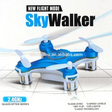 Free Shipping 2015 New arrive 2.4G 4 CH 6-Axis Gyro mini rc quadcopter With Led Light RC UFO
