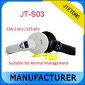 134.2 Khz/125 khz de Baja frecuencia etiqueta RFID Lector De Mano para Manejo de Animales