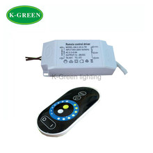 1X Hight quality 95-265V input 4-7W 2.4G constant current double color led driver with touch led remote controller free shipping