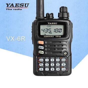 Walkie Talkie VX-6R de doble banda 140-174/420-470 MHz canal 900 FM Ham Radio de dos vías transceptor 10 KM Yaesu VX-6R Radio