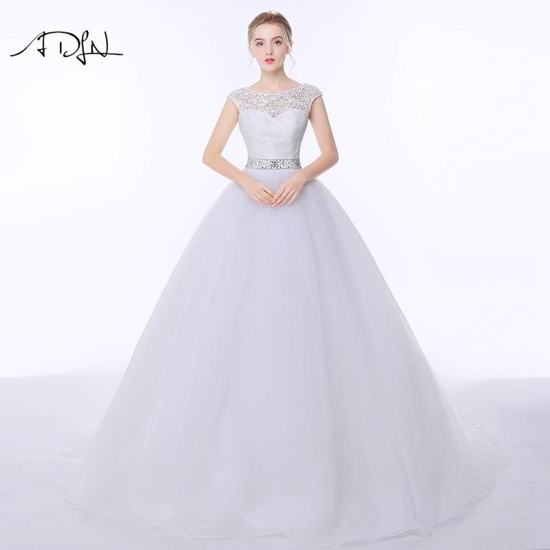 Vestido de Novia de Encaje Elegante ADLN Vestido de Noiva A-line - Vestidos de novia - foto 2