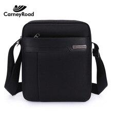 Carneyroad yüksek kaliteli erkek omuz çantası su geçirmez Oxford postacı çantası rahat iş Crossbody çanta erkek çanta moda