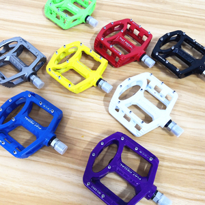 Image 3 - Magnesium alloy Road Bike Pedals Ultralight MTB Bearing Bicycle Pedal Bike Parts Accessories 8 color optional
