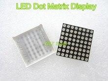 2 шт./пакет LED Дисплея Матрицы Многоточия 16pin 8×8 3 мм Красный Общий Анод Для Arduiino AVR 1088BS