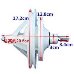 Применимо оригинальный Haier Pulsator двойной ствол цилиндр стиральная машина 10 зуб редуктор коробка посылка пакет 7500A