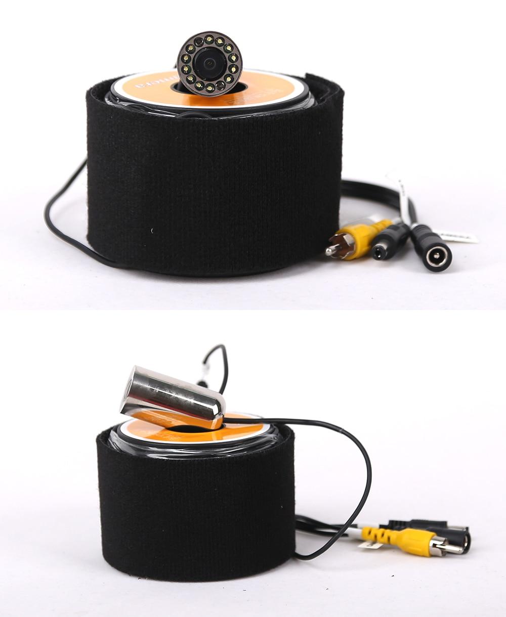 Vienweye V01S аксессуары для подводной рыбалки камера эхолот 12 шт. Белый светодиодный или инфракрасный ИК светодиодный светильник из нержавеющей стали