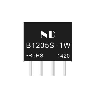 2 PCS/LOTdc 12 v zu 5 v dc spannung liefern modul mikrocontroller op-amp isolation DCDC B1205S -1 w
