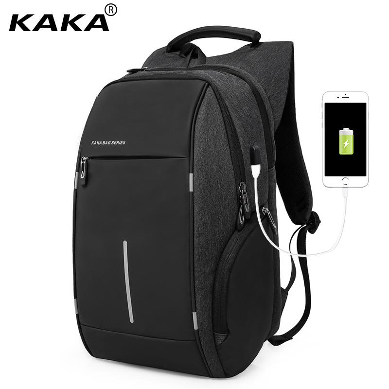 Detail Feedback Questions about KAKA Men USB Charging Backpack 15Inch  Laptop Backpack Bag Multifunction Waterproof Fashion Travel Schoolbag Male  Backpacks ... 1dc2a3035d29d