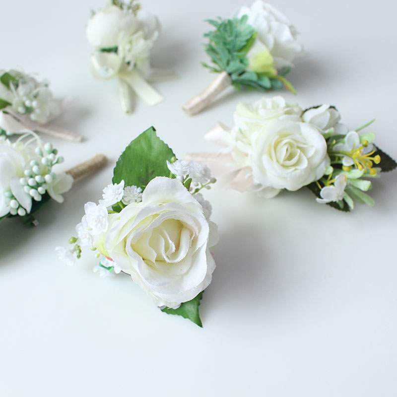 wedding boutonniere corsage groom  (5)