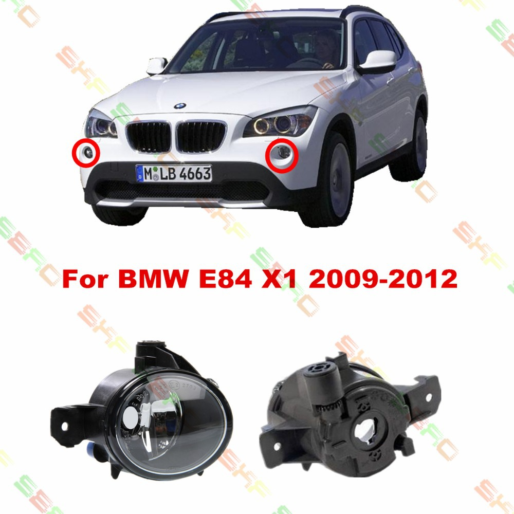For BMW E84 X1 2009/10/11/12 car styling fog lights 1 SET FOG LAMPS enzymatic processing of clear fruit juices the case of pineapple
