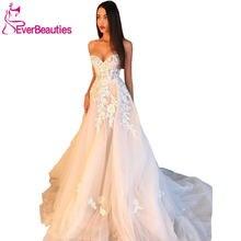 Свадебное платье 2020 свадебные платья милое Тюлевое с аппликацией