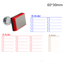 Hand account photosensitive stamps DIY hand special seal TODO monthly plan / week punch card