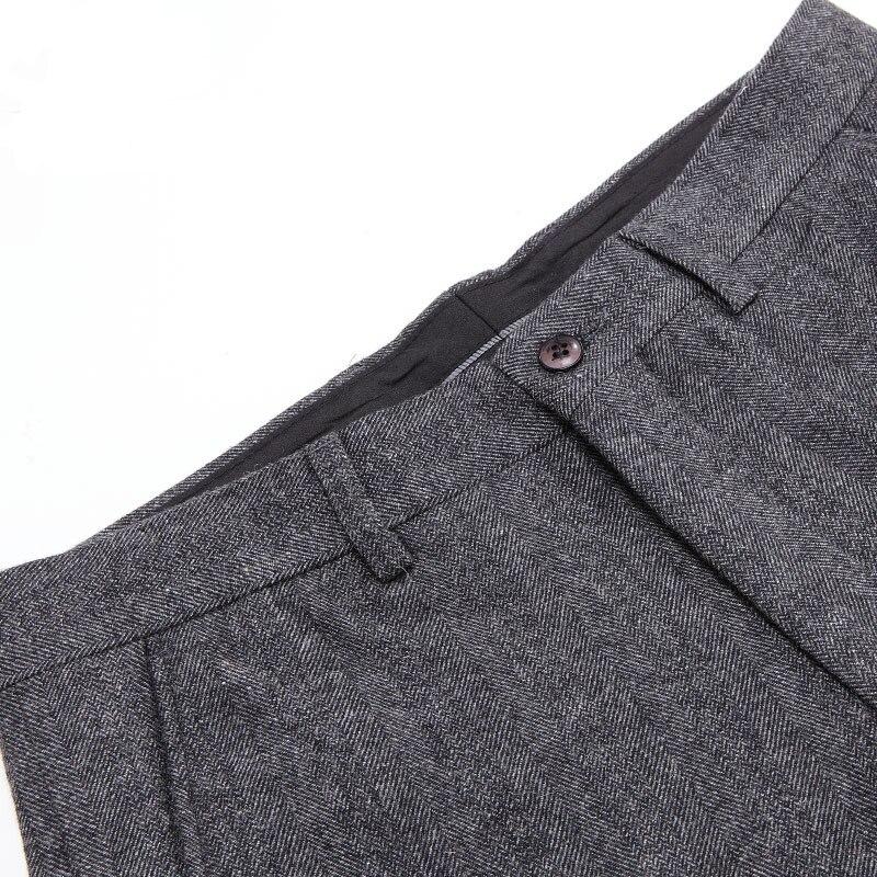 Trajes de lana para hombre de alta calidad Traje masculino de 3 - Ropa de hombre - foto 5