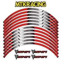 MTKRACING for YAMAHA MT 07 motorcycle wheel decals Reflective stickers rim stripes motorbike mt07