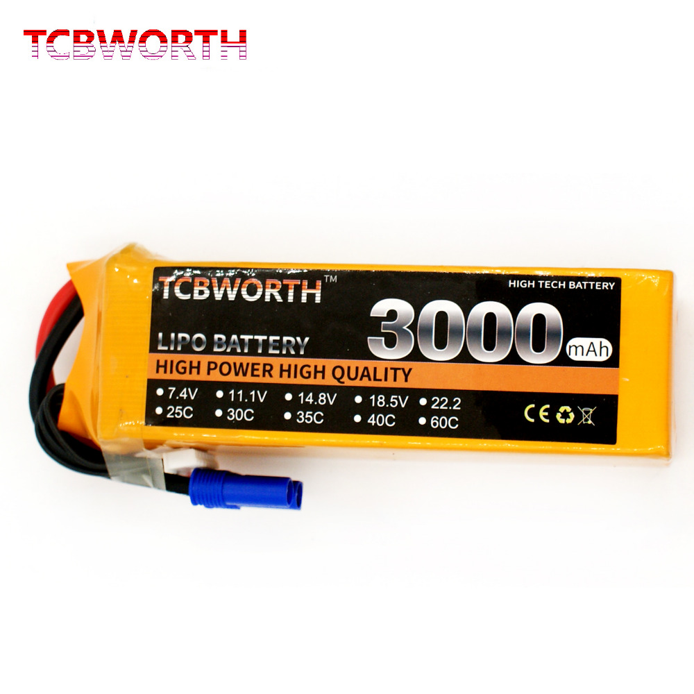 5S lipo battery 18.5v 3000mAh 40C For RC airplane helicopter carboat quadcopter 1s 2s 3s 4s 5s 6s 7s 8s lipo battery balance connector for rc model battery esc