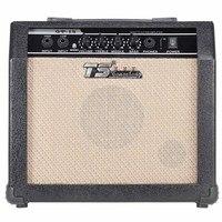 Amplificador de guitarra eléctrica de alta calidad, amplificador profesional de 3 bandas, EQ, 2 canales, distorsión, 15W, con altavoz de 5 pulgadas, GT-15