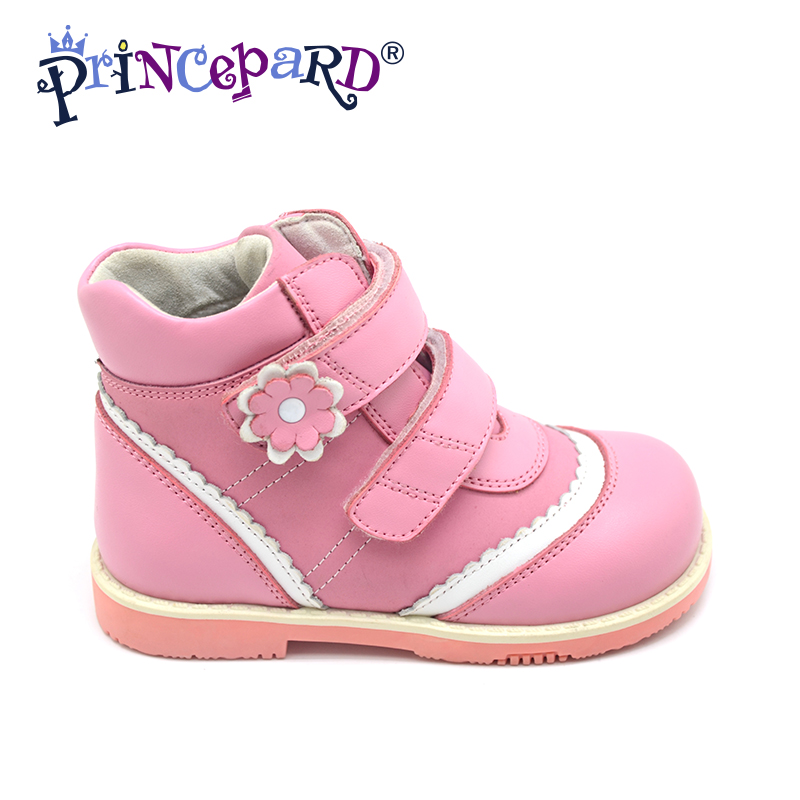 Princepard Need Customize in Advance 20 days black pink flats orthopedic Shoes for girl Sneakers Childrens casual shoes