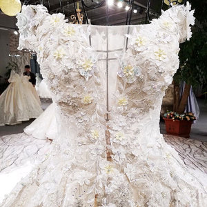 Image 4 - AIJINGYU Wedding Formals Indonesia Bridal With Sleeves Ball Gown 2021 Chinese New Wedding Dress