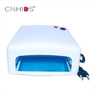 Cnhids الأبيض النساء جودة عالية شعبية 36 واط eu التوصيل البنفسجية 220 فولت هلام المهنية uv علاج مصباح مجفف الضوء مسمار الفن