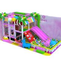 Маленький ребенок крытая площадка оборудование/детские мягкие конфеты рай/области притяжения лабиринт YLW IN180806